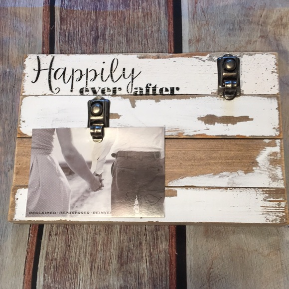 Sweet Bird Other - Happily Ever After Distressed Photo Holder New